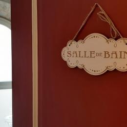 1er étage - SDE privative à la chambre Suite parentale Eau et à la chambre  - Chambre d'hôtes - Brioude