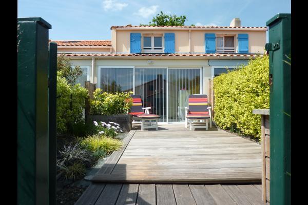 terrasse- jardinet clos - Location de vacances - Saint-Michel-Chef-Chef