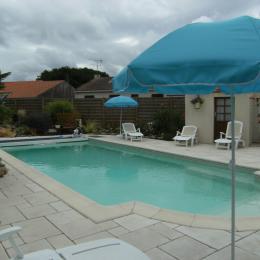 piscine - Chambre d'hôtes - Machecoul