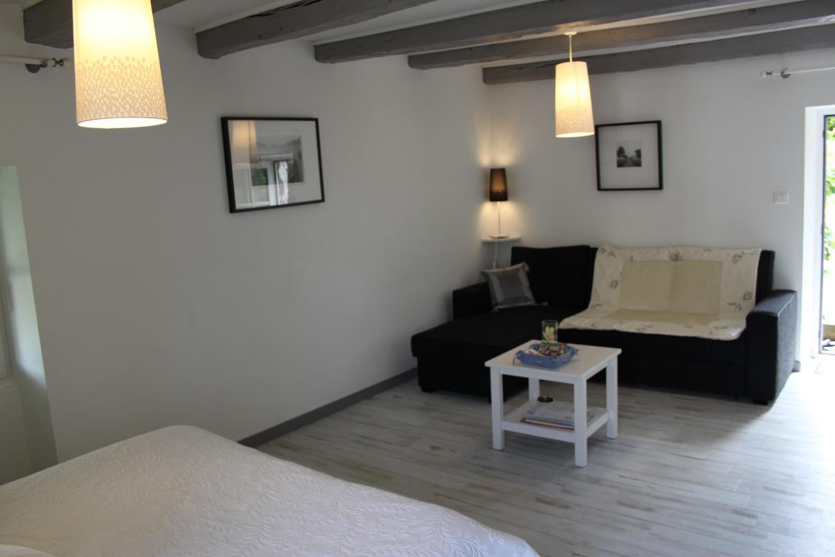 espace salon - Chambre d'hôtes - Le Landreau