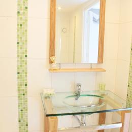 salle d'eau / WC - Chambre d'hôtes - Le Landreau