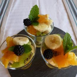 Un petit-déjeuner vitaminé - Chambre d'hôtes - Nantes