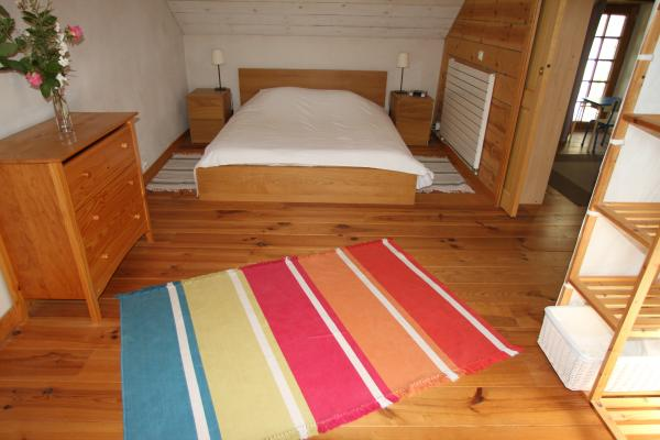 La grande chambre - Location de vacances - Le Cellier