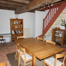 La salle à manger - Location de vacances - Le Cellier