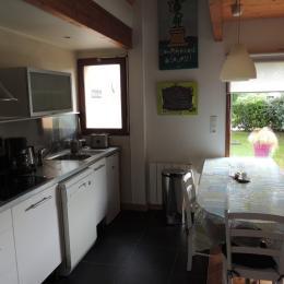Chambre étage avec 2 lits de 90 - Location de vacances - Guérande
