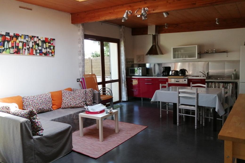 Terrasse avec jardinet clos  - Location de vacances - Guérande