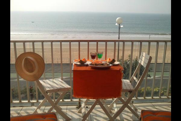 Balcon face à la mer - Location de vacances - La Baule-Escoublac