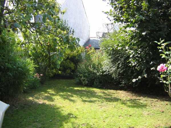 le jardin vu de la terrasse - Location de vacances - Le Croisic
