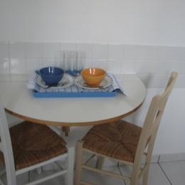 table du petit-dejeûner - Location de vacances - Le Croisic