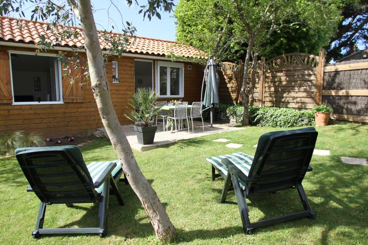 jardin - Location de vacances - La Plaine-sur-Mer