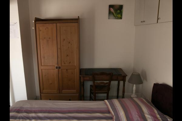 Chambre avec bureau - Location de vacances - Nantes