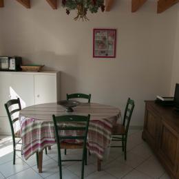 Séjour salle à manger - Location de vacances - Nantes
