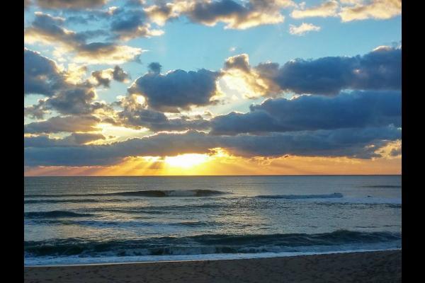 coucher de soleil plage valentin  DOM - Location de vacances - Batz-sur-Mer