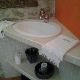 Salle d'eau l'atelier 88 - Chambre d'hôtes - Rouans