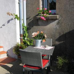 La Petite Maison La Remaudiere Terrasse©VCC/LAD - Location de vacances - La Remaudière