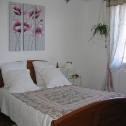 La Petite Maison La Remaudiere Chambre1©VCC/LAD - Location de vacances - La Remaudière