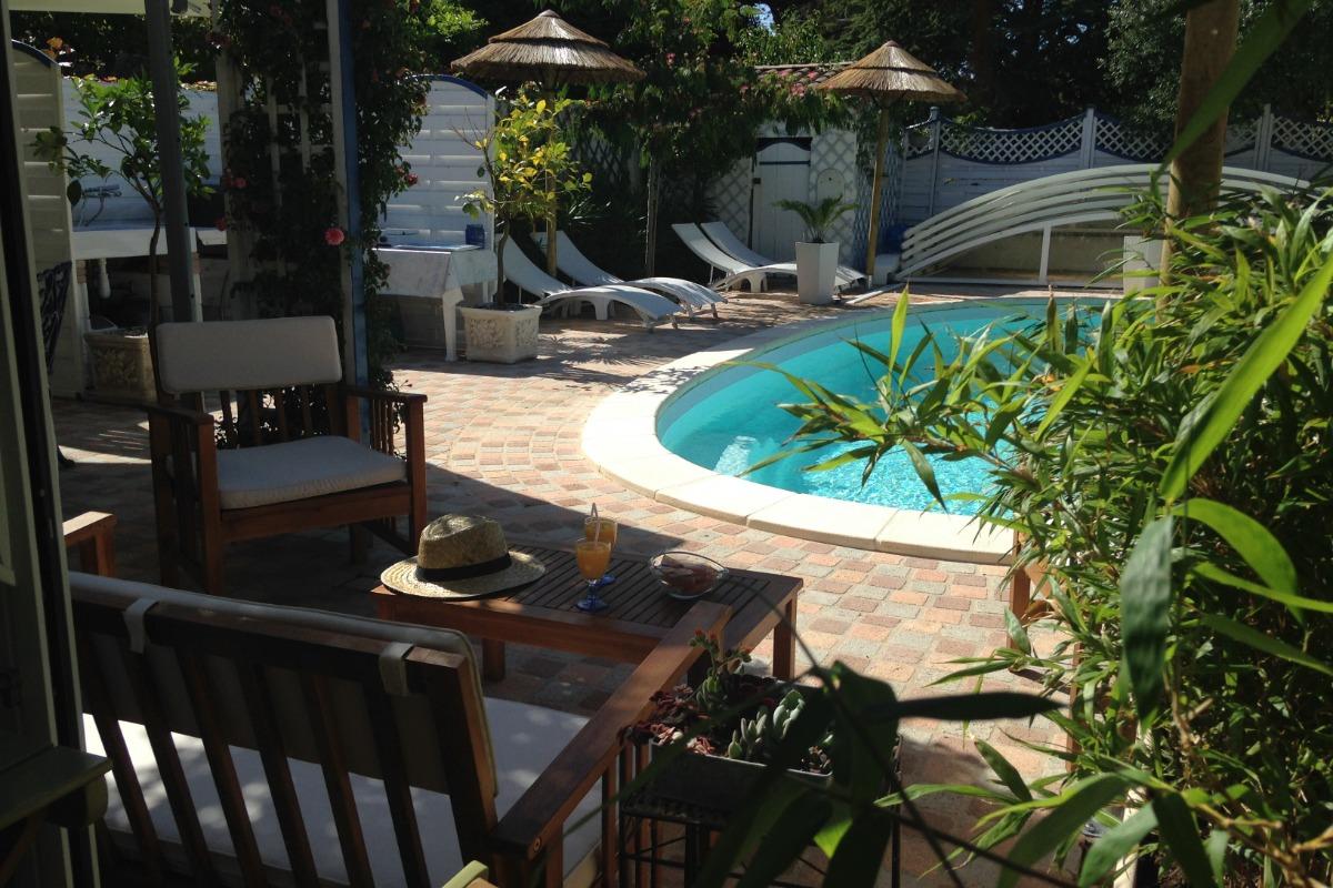 La Korrigane Chambre Dhôtes De Charme Océane Avec Piscine Jardin - Chambre d hote en provence avec piscine