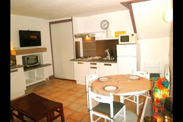 Le Bouquet - Séjour cuisine - Location de vacances - Guérande