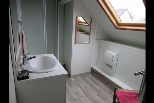 La sieste  salle d'eau - Location de vacances - Guérande