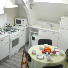La sieste - coté cuisine - Location de vacances - Guérande