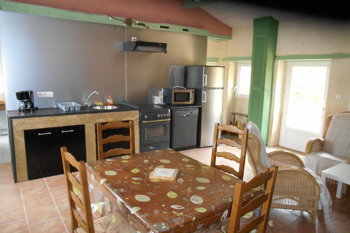 gîte côté cuisine - Location de vacances - Machecoul