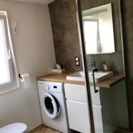 Chambre 1 lit de 140 et 2 lits de 90 - Location de vacances - La Baule-Escoublac