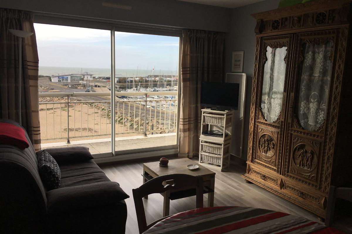 salon séjour   - Location de vacances - La Turballe