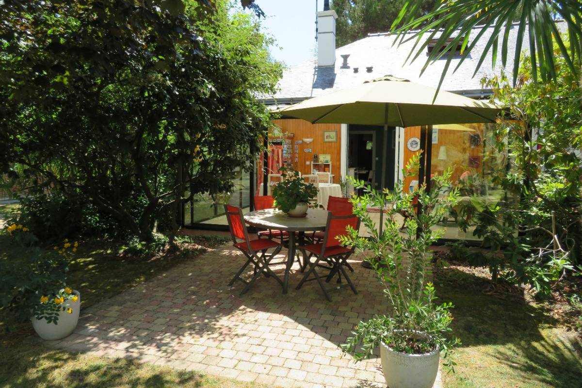 jardin - Chambre d'hôtes - Saint-André-des-Eaux