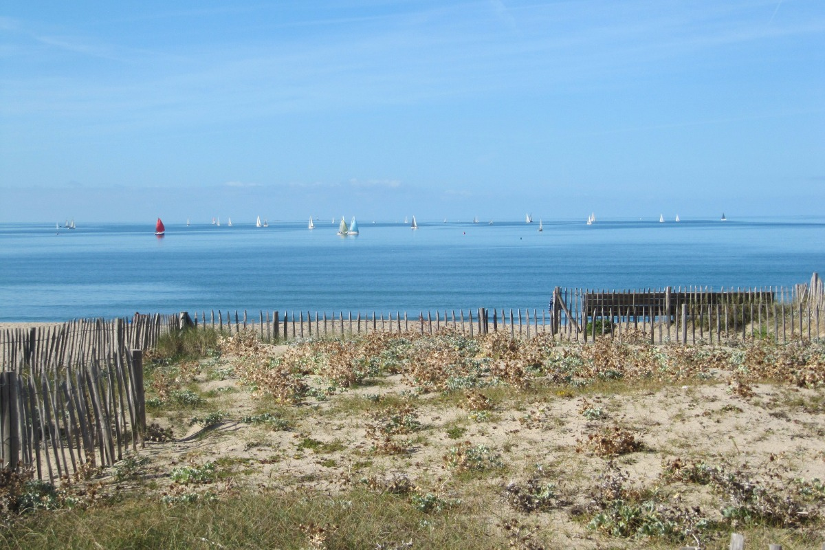 La plage devant la maison - Location de vacances - La Turballe