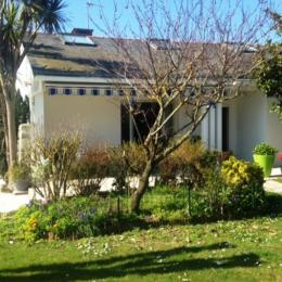 vue jardin et terrasse  - Location de vacances - La Turballe