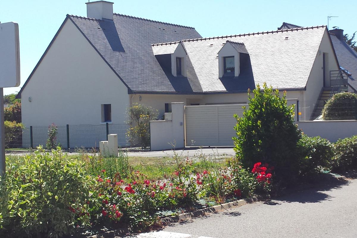 vue de la maison côté rue - Location de vacances - Piriac-sur-Mer