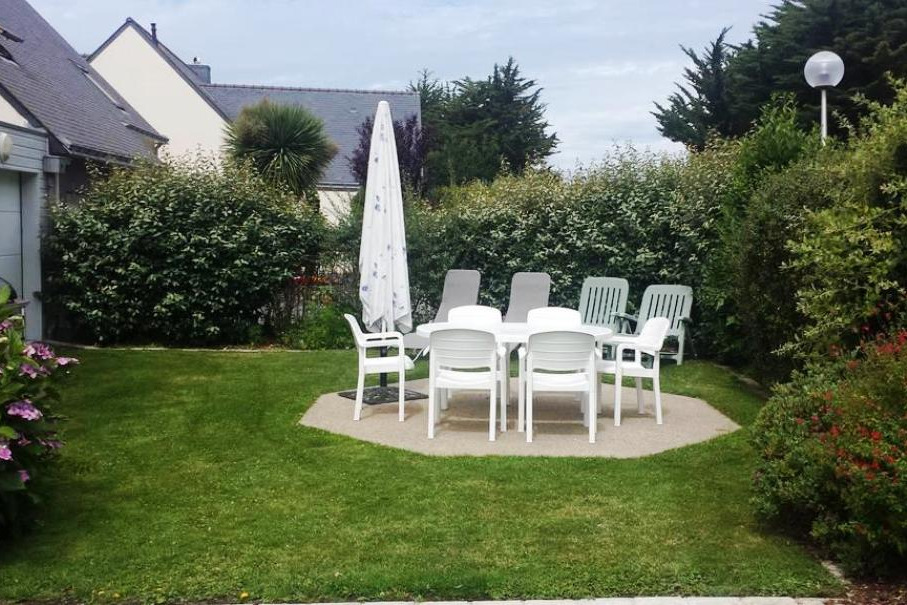 jardin privatif  - Location de vacances - Piriac-sur-Mer