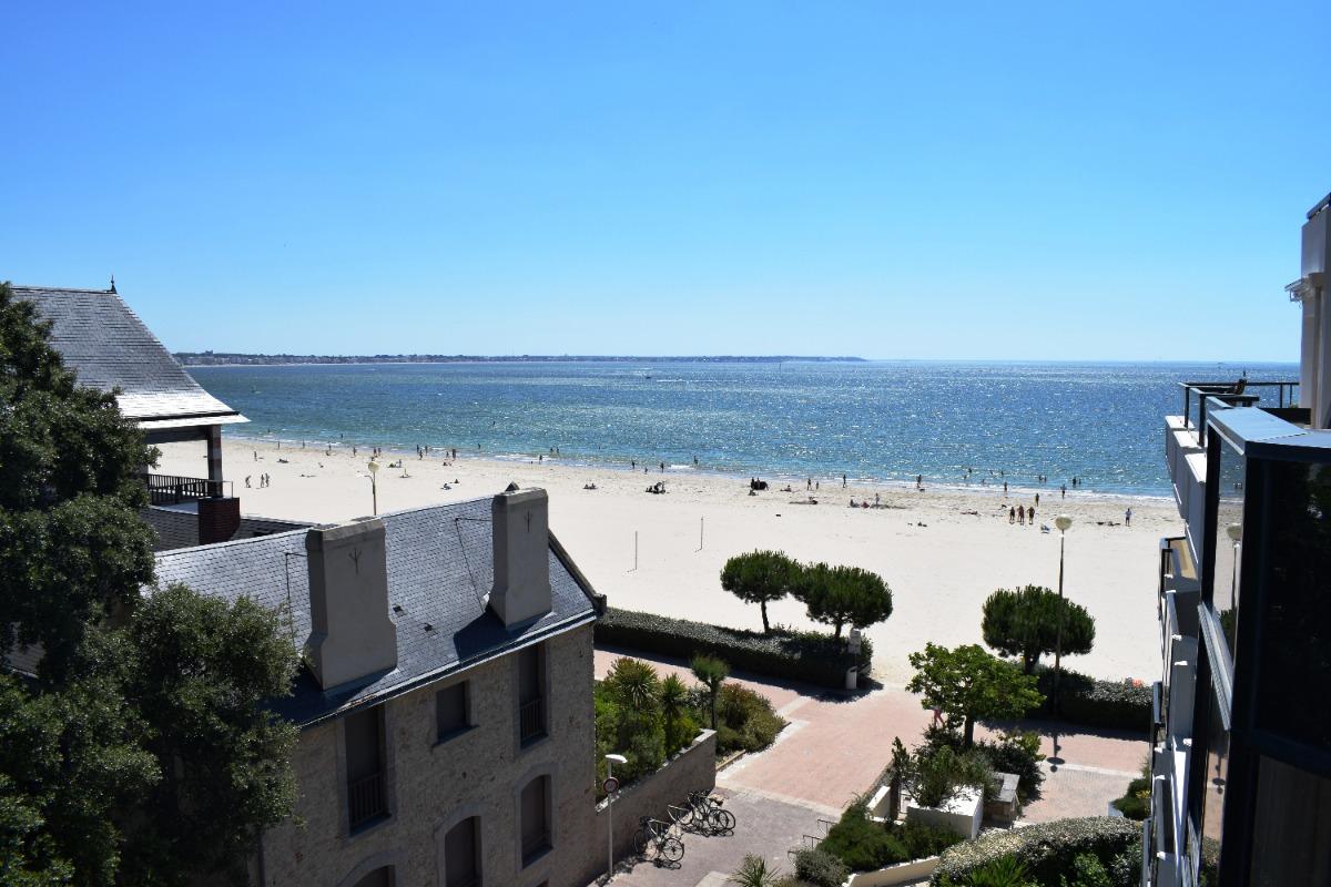 vue de la terrasse - Location de vacances - La Baule-Escoublac