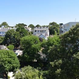 vue de la terrasse quartier Benoit - Location de vacances - La Baule-Escoublac