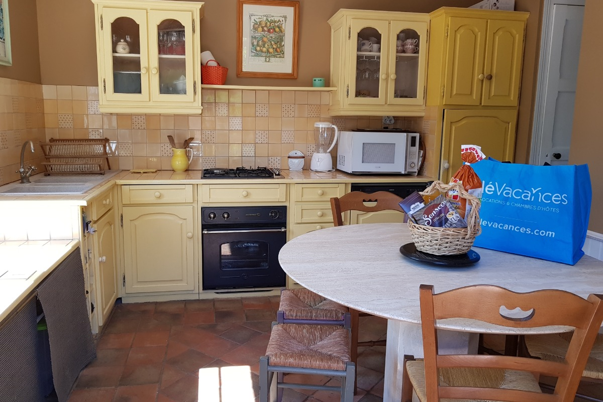 cuisine - Location de vacances - La Baule-Escoublac