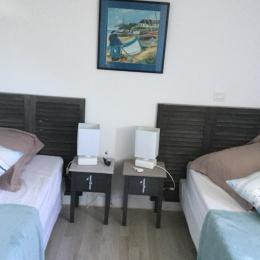 Chambre 2  - Location de vacances - Saint-André-des-Eaux