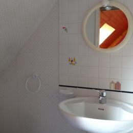 coin toilette dans mezzanine - Location de vacances - La Turballe
