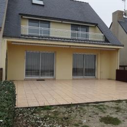 vue maison, gîte à l'étage avec loggia - Location de vacances - La Turballe
