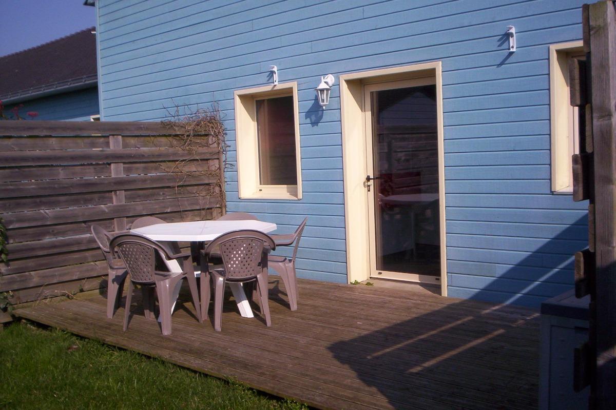 terrasse gite 2 - Location de vacances - Batz-sur-Mer