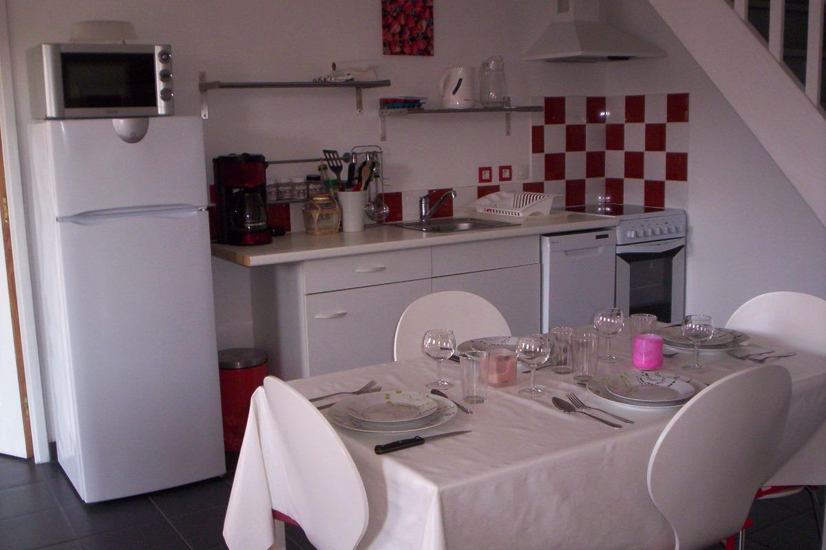 cuisine gite 2 - Location de vacances - Batz-sur-Mer