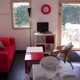 salon gite 2 - Location de vacances - Batz-sur-Mer