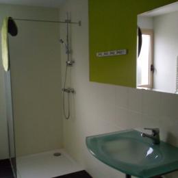 salle de bain gite 2 - Location de vacances - Batz-sur-Mer