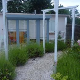 Façade avec pièce dedans dehors - Location de vacances - Saint-Brevin-les-Pins