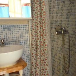 Salle d'eau coté douche - Location de vacances - Saint-Brevin-les-Pins