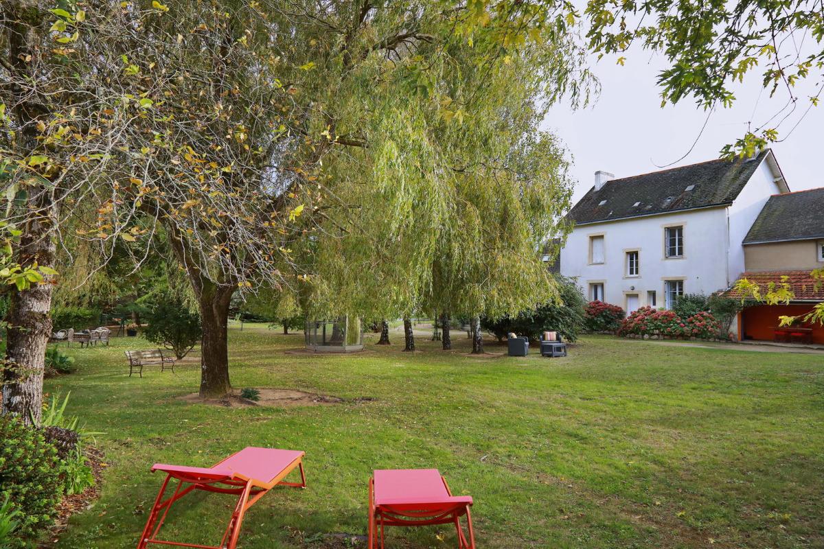 La maison, vue du jardin - Location de vacances - la Baule