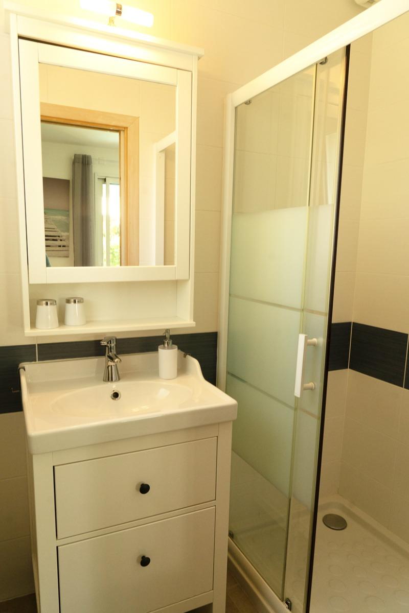 Vue sur la salle de bain chambre Brest - Chambre d'hôtes - Blain