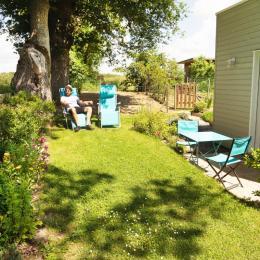 Extension en bois et terrasse - Chambre d'hôtes - Blain