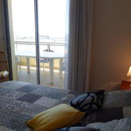 chambre parentale sur terrasse - Location de vacances - la Baule