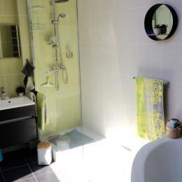 Salle de bain privée  - Chambre d'hôtes - Pornic