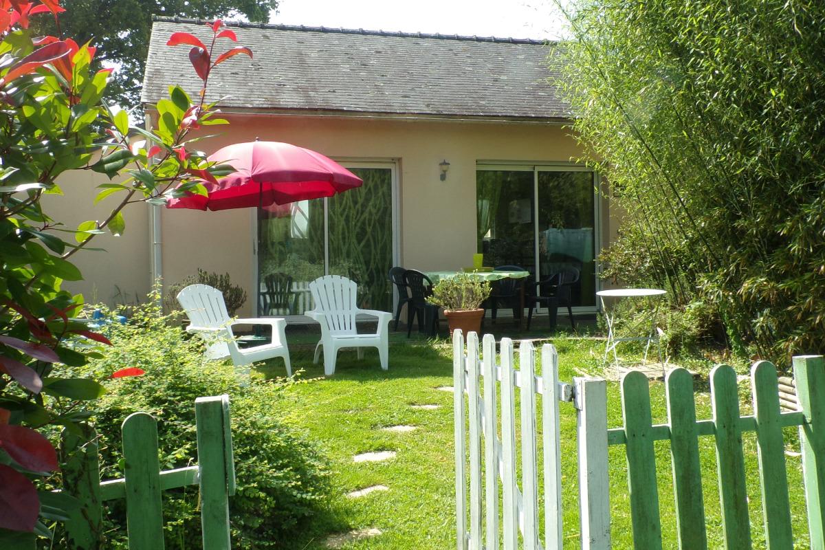 Le jardin et la terrasse - Location de vacances - Missillac